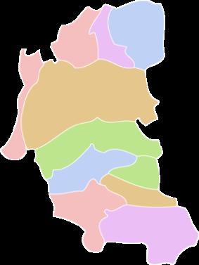 市町村エリアマップから探す