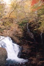 立岩の滝-2