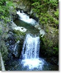 南相木 千ヶ淵の滝